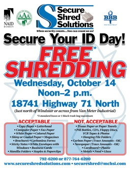 Secure Shred Solutions flyer